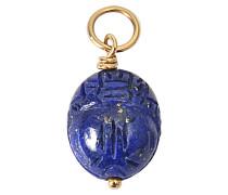 Halskette aus Gold mit Lapis Lazulis