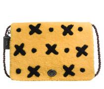 Kleine Schultertasche Dinky 32 aus Schafleder