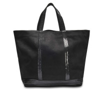 Washed Leather and Sequins Medium + tote