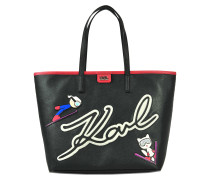 Tasche shopping Karl & Choupette Ski Holiday
