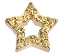 Mono Ohrring Strass Star