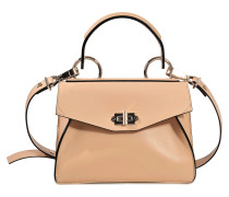 Small Hava Top Handle Smooth Leather bag