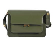 Tasche Medium Trunk; mittelgroße Tasche Trunk Saffiano; mittelgroßes Tasche Trunk aus Leder Box; Tasche Trunk Medium; Tasche Trunk Medium Bi Couleur