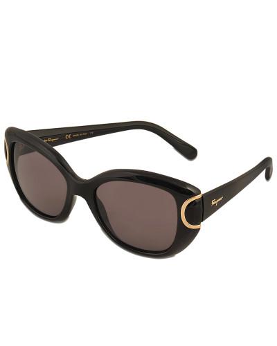 salvatore ferragamo damen salvatore ferragamo sf819s signature sonnenbrille reduziert. Black Bedroom Furniture Sets. Home Design Ideas