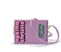 Book Clutch with strap Sleeping Murder
