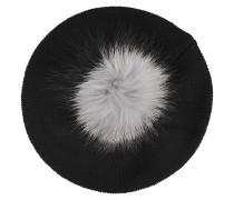 Baskenmütze aus Wolle und Kaschmir