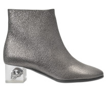 ANKLE BOOT WITH SKULL HEEL
