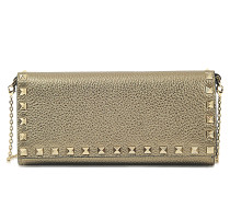 Clutch Rockstud wallet on chain