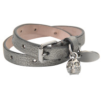 Armband Skull Charm Double