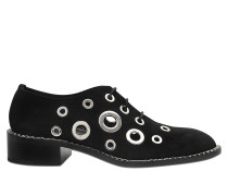 SANTIAGO EYELET LACE UP SHOES