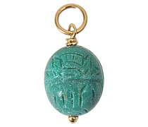 Halskette aus Gold mit Türkis