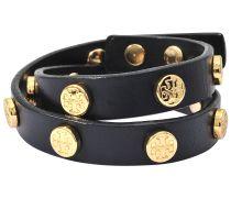 Tory Burch Armband zweireihig Logo Stud