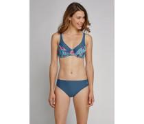Schiesser Bikini Bügel-Top ungepaddet mehrfarbig - Aqua Mix & Match für Damen