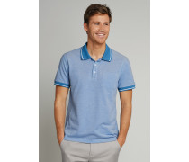 Poloshirt kurzarm Bird Eye Piquee hellblau - Selected! Premium für Herren,Poloshirt kurzarm Bird Eye Piquee hellblau -elected! Premium für Herren