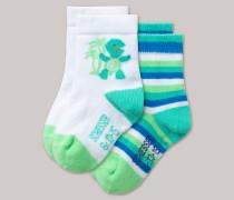 Schiesser Babysocken 2er-Pack mehrfarbig - Beach Cruiser für Jungen