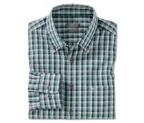 Hemd langarm Button-Down-Kragen meliert mehrfarbig kariert - REGULAR-FIT