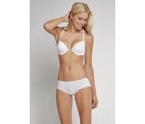 Bikini Hipster Micro-Qualität mit Spitze weiß - Pure Micro für Damen