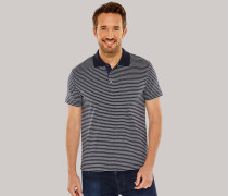 Poloshirt Jersey blau geringelt - Selected! Premium für Herren,Poloshirt Jersey blau geringelt -elected! Premium für Herren