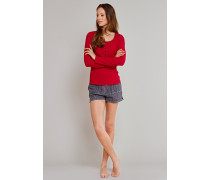 Shorts Flanell grau kariert - Uncover