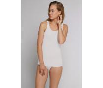 Shorts taupe-weiß geringelt - Venice Beach für Damen