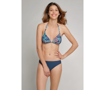 Schiesser Bikini-Triangel-Top mehrfarbig - Aqua Mix & Match für Damen
