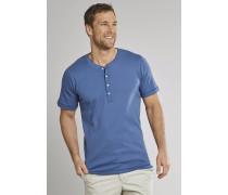 Schiesser Shirt kurzarm Feinripp Henley Knopfleiste royal - Selected! Premium für Herren,Schiesser Shirt kurzarm Feinripp Henley Knopfleiste royal -elected! Premium für Herren