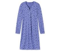 Nachthemd langarm Libellen indigo - Sometimes feelin´ blue