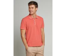 Poloshirt kurzarm Piquee Usedook rot - Selected! Premium für Herren,Poloshirt kurzarm Piquee Used Look rot - Selected! Premium für Herren