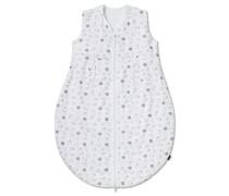 Ganzjahres-Schlafsack Jersey mit Reißverschluss weiß bedruckt - Original Classics
