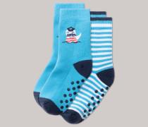 Schiesser Stopper-Socken 2er-Pack mehrfarbig - Sommerbrise für Jungen