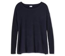 Pullover Strickware Wolle/Kaschmir grau meliert - Revival Lotte