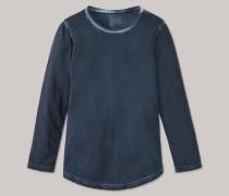 Schiesser Shirt langarm Jersey Used-Look nachtblau - Mix & Relax für Jungen,Schiesser Shirt langarm Jersey Used-Look nachtblau -ix & Relax für Jungen
