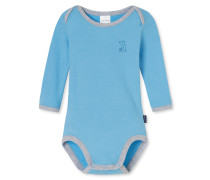 Babybody langarm hellblau - Eisbär & Co.