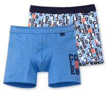 Shorts (2er Pack) mehrfarbig