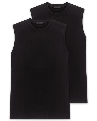 Muscle Shirts 2er Pack schwarz - Essentials