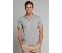 Poloshirt kurzarm Heavy Single Jersey grau meliert - Selected! Premium für Herren,Poloshirt kurzarm Heavyingle Jersey grau meliert -elected! Premium für Herren