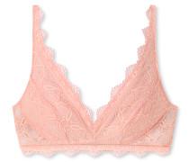Schiesser BH ohne Bügel Spitze rosa