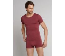 Shirt kurzarm bordeaux - Seamless Active für Herren