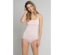 Minislip Jersey Modal Ringel Spitze rosé - Natural Shades für Damen