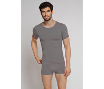 Shirt kurzarm dunkelgrau - Seamless Active