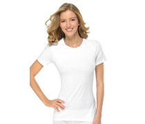 Shirt kurzarm Funktionswäsche weiß - Sport Allround