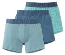 Shorts 3er-Pack mehrfarbig - Ocean Waves