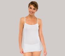 Spaghetti-Tops 2er-Pack weiß - Cotton Essentials für Damen