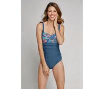 Schiesser Badeanzug mit Shape-Effekt mehrfarbig - Aqua Mix & Match für Damen