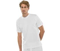 American T-Shirts Rundhals 2er Pack weiß - Essentials