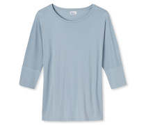Shirt 3/4-Arm hellblau - Revival Carina