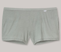 Shorts Jersey aus Zwirn khaki - Revival Carina für Damen