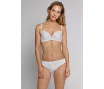 Schiesser Tai Slips 2er-Pack taupe-weiß - Venice Beach für Damen