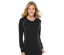 Shirt langarm Funktionswäsche extra warm schwarz - Thermo Plus