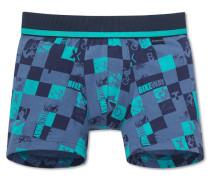 Shorts blau bedruckt - BMX Trix